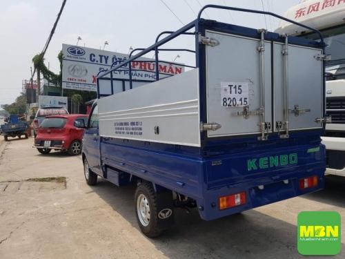 Đánh giá xe tải Kenbo 990kg về thùng xe