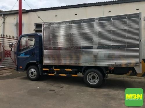Tổng quan về ngoại thất xe tải Daehan Tera 240 2.4 Tấn thùng kín