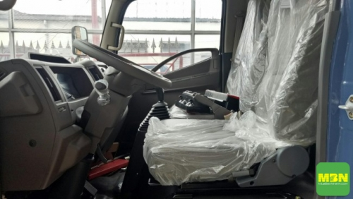 Tổng quan về nội thất xe tải Daehan Tera 240 2.4 Tấn