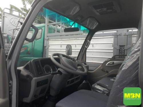 Đánh giá nội thất và trang bị an toàn trên xe tải Jac 2.4 tấn
