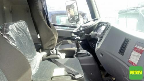 nội thất xe ben Trường Giang 7.7 tấn