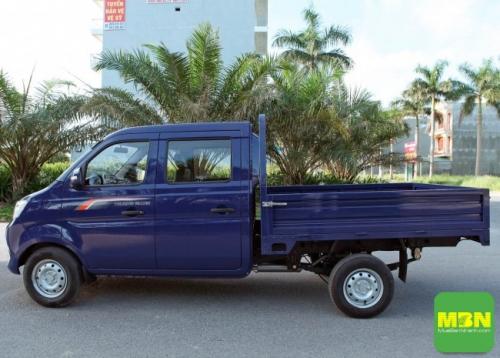 Thiết kế xe nhỏ gọn giúp di chuyển thuận tiện trong khu vực nội thành và các ngõ nhỏ