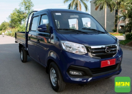 xe tải cabin kép Trường Giang T3 810kg - 2