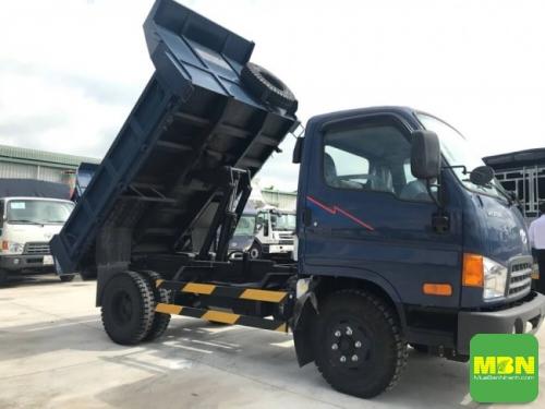 Ty ben Xe Ben Hyundai HD65 tải 2.5 Tấn thùng 2 khối