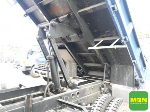 khung Xe Ben Hyundai HD65 tải 2.5 Tấn thùng 2 khối