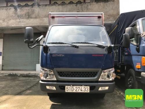 Đánh giá xe tải Iz49 Đô Thành 2.5 tấn Euro 4(1)