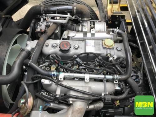 Đánh giá xe tải Iz49 Đô Thành 2.5 tấn Euro 4 về động cơ
