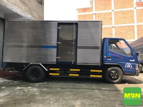 Báo giá xe tải 2.5 tấn Hyundai IZ49 thùng kín, hỗ trợ vay trả góp lãi suất thấp, giao xe nhanh, 43, Uyên Vũ, Xe Tải Nhanh, 28/11/2018 13:59:50